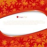 De achtergrond van de herfst. Royalty-vrije Stock Afbeelding
