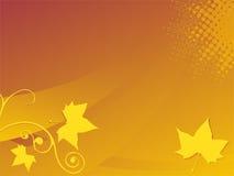 De Achtergrond van de herfst Stock Afbeeldingen