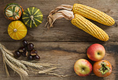 De achtergrond van de herfst stock foto's