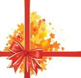 De Achtergrond van de herfst/de Boog van de Dankzegging Royalty-vrije Stock Fotografie
