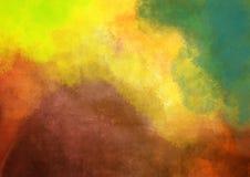 De achtergrond van de herfst Rode en oranje het bladclose-up van de kleurenKlimop vector illustratie