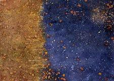 De achtergrond van de herfst Rode en oranje het bladclose-up van de kleurenKlimop Stock Afbeeldingen