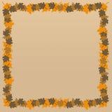De Achtergrond van de herfst/van de Daling Stock Afbeelding