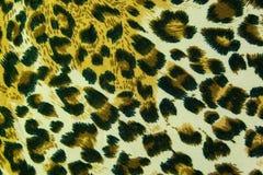De achtergrond van de het patroontextuur van het luipaardleer Royalty-vrije Stock Afbeeldingen