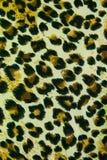 De achtergrond van de het patroontextuur van het luipaardleer Stock Fotografie