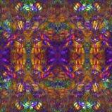 De Achtergrond van de hippie stock illustratie