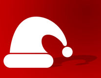 De Achtergrond van de Hoed van de kerstman royalty-vrije illustratie