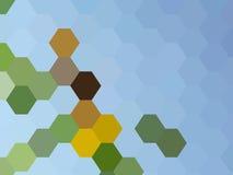 De achtergrond van de honingraat Royalty-vrije Stock Afbeelding
