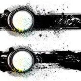de achtergrond van de illustratie -illustratie-grungeinkt Stock Foto