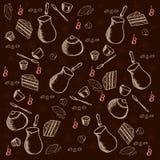 De achtergrond van de koffie Royalty-vrije Stock Foto