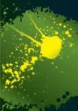 De achtergrond van de inkt splat grunge voor tekst. Stock Foto