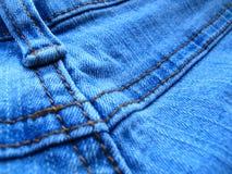 De achtergrond van de jeans Stock Afbeeldingen
