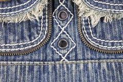 De achtergrond van de jeans Royalty-vrije Stock Afbeelding