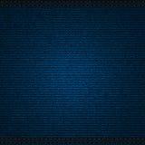 De achtergrond van de jeans Stock Afbeelding