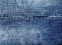 De achtergrond van de jeansstof Stock Fotografie