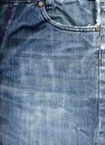 De achtergrond van de jeansstof Royalty-vrije Stock Foto