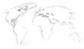 De achtergrond van de kaart Stock Foto's