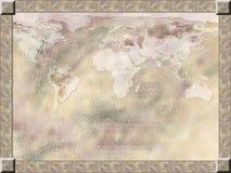 De achtergrond van de kaart royalty-vrije illustratie