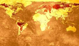 De achtergrond van de kaart Royalty-vrije Stock Fotografie