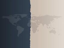 De Achtergrond van de Kaart van de wereld Royalty-vrije Stock Afbeelding