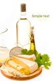 De achtergrond van de kaas Stock Fotografie