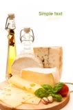 De achtergrond van de kaas Royalty-vrije Stock Foto