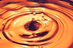 De achtergrond van de karamel Stock Foto