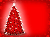 De Achtergrond van de kerstboom Royalty-vrije Stock Foto