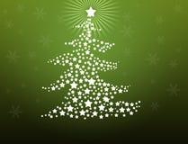 De achtergrond van de kerstboom stock illustratie