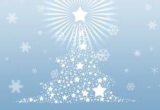 De achtergrond van de kerstboom 2013 Royalty-vrije Stock Afbeeldingen