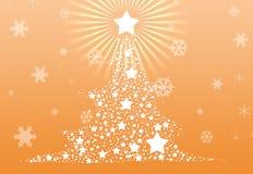 De achtergrond van de kerstboom 2013 Stock Afbeeldingen