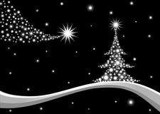 De achtergrond van de kerstboom, vector royalty-vrije illustratie