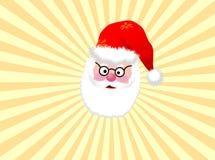 De achtergrond van de kerstman stock illustratie