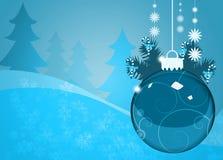 De achtergrond van de Kerstmisdecoratie vector illustratie
