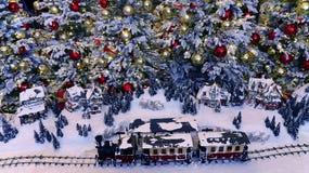 De achtergrond van de Kerstmisdecoratie Royalty-vrije Stock Afbeelding
