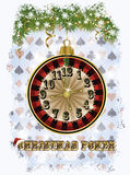 De achtergrond van de Kerstmispook, vector Royalty-vrije Stock Fotografie