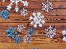 De achtergrond van de Kerstmisraad Royalty-vrije Stock Afbeeldingen