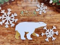 De achtergrond van de Kerstmisraad Royalty-vrije Stock Foto's