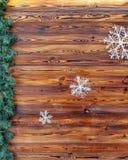 De achtergrond van de Kerstmisraad Royalty-vrije Stock Fotografie