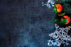 De achtergrond van de Kerstmissamenstelling Royalty-vrije Stock Foto