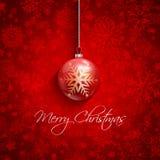 De achtergrond van de Kerstmissnuisterij Royalty-vrije Stock Foto's