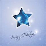 De Achtergrond van de Kerstmisster Royalty-vrije Stock Afbeeldingen