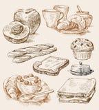 De achtergrond van de keuken vector illustratie