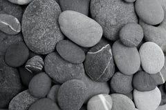 De achtergrond van de kiezelsteensteen Vlak leg stock fotografie