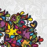 De achtergrond van de kleur vector illustratie