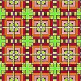 De achtergrond van de kleur met een decoratief patroon Royalty-vrije Stock Fotografie