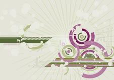 De achtergrond van de kleur, vector Stock Afbeeldingen