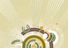 De achtergrond van de kleur, vector illust Stock Fotografie