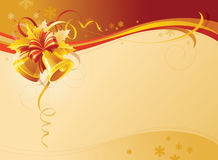 De Achtergrond van de Klokken van Kerstmis Royalty-vrije Stock Foto's