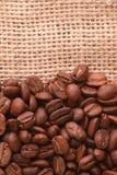 De achtergrond van de koffie Stock Fotografie